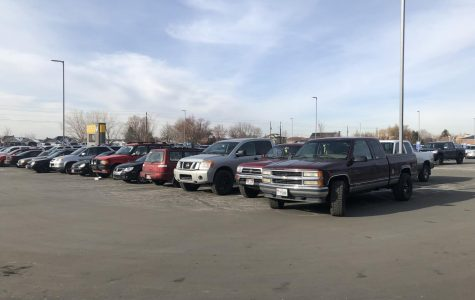 Parking at Farmington High
