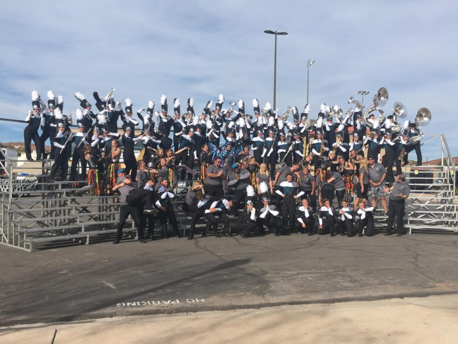 Marching Band Finishes Year Strong