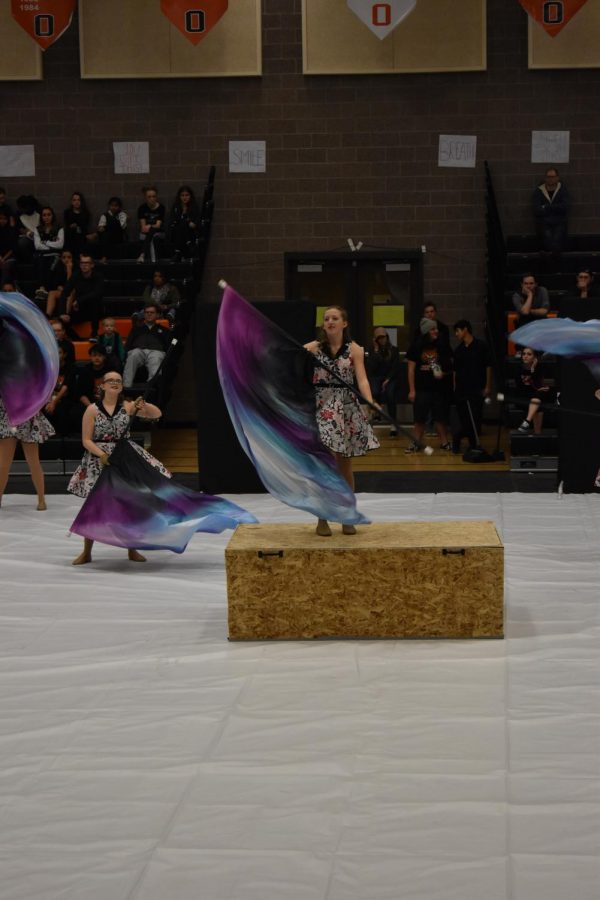 Color Guard Begins Competition Season