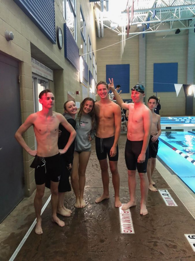 The Swim Team Dives Into A New Year