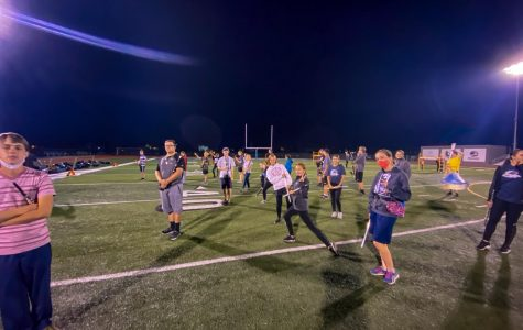 Marching Band Works Hard to Prepare for Competition