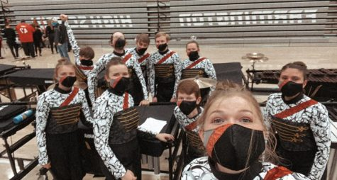 Winter Drumline Prepares For Competitions