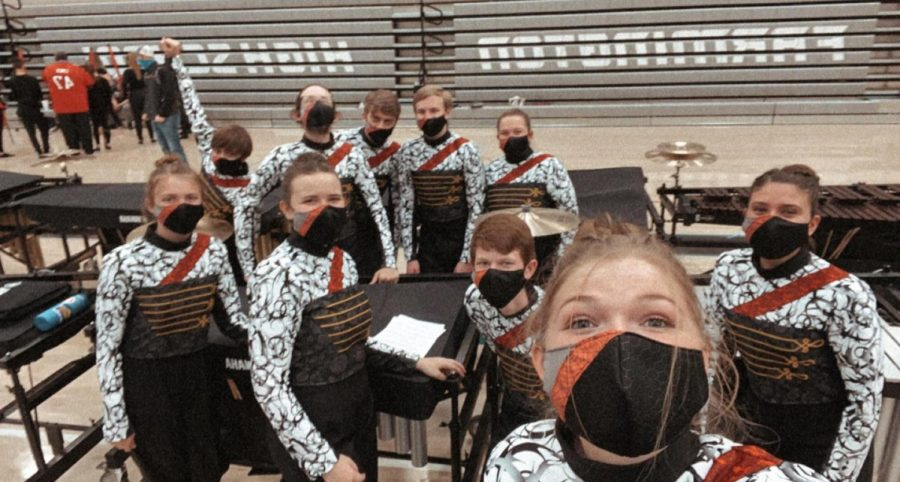 Winter+Drumline+Prepares+For+Competitions